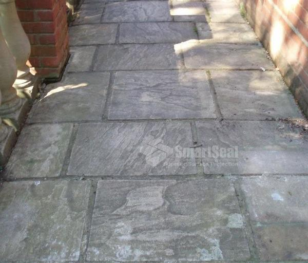 Driveway cleaning south wales pressure cleaning cardiff for Cleaning concrete patio slabs